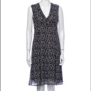 Derek Lam Sleeveless 100% silk dress